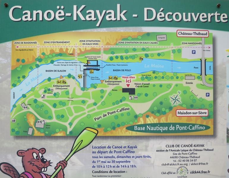 Location de Canoe à Maisdon-sur-Sèvre