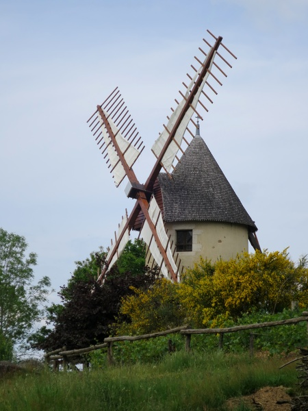 Moulins du terrier Marteau XVIIIe siècle à Pouzauges