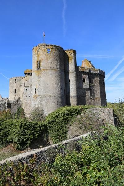 Le château de Clisson à Clisson