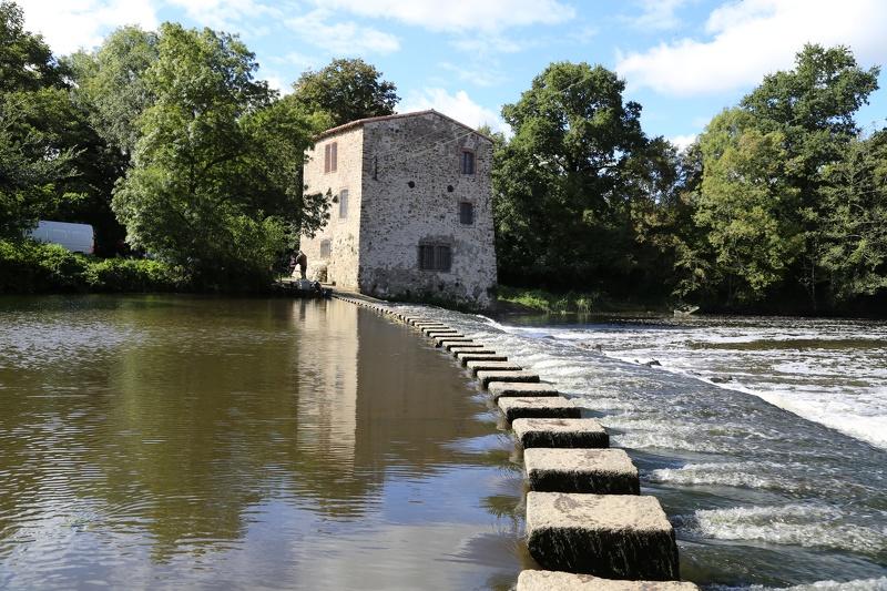 Les moulins sur la Sèvre Nantaise à Gorges