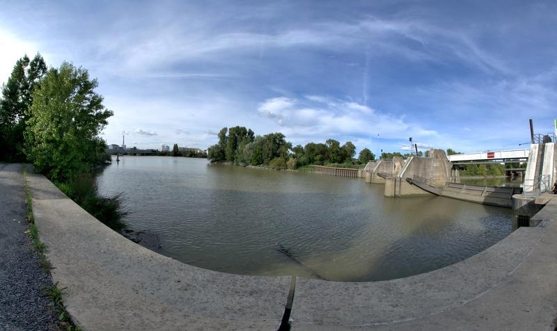 La confluence avec la Loire à Nantes
