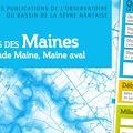 La publication de l'observatoire d�di�e aux sous-bassins des Maines est disponible