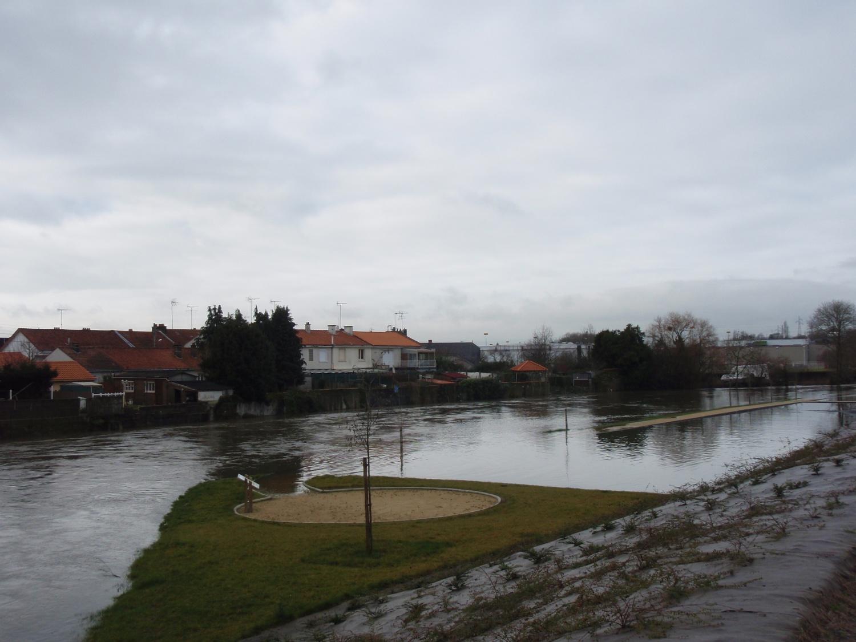 Crue de la Moine en février 2014 à Cholet