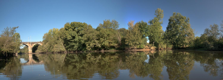 La Sanguèze - confluence avec la Sèvre au Pallet